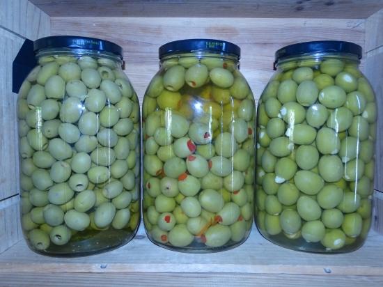 Vrac - Olives vertes farcies aux poivrons