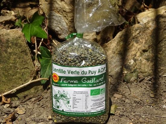 Lentilles du Puy