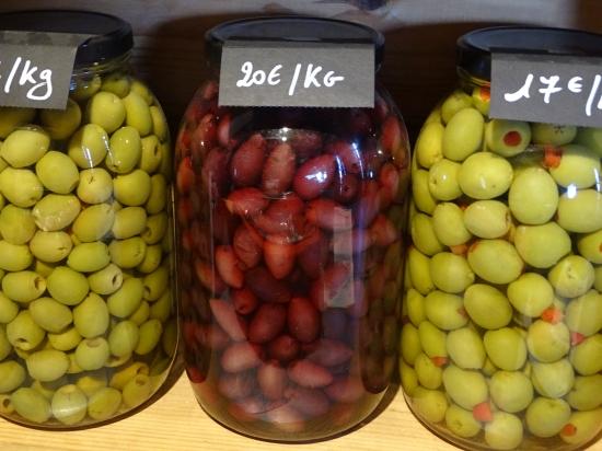 Vrac - Olives vertes denoyautées