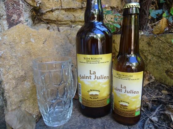 """Bière Blanche """"St Julien"""""""