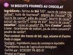 Cookies fourrés chocolat