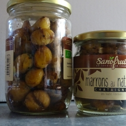 Marrons au naturel