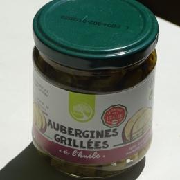 Aubergines grillées à l'huile