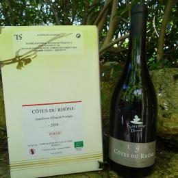 AOC Côtes du Rhône Rouge 5 L
