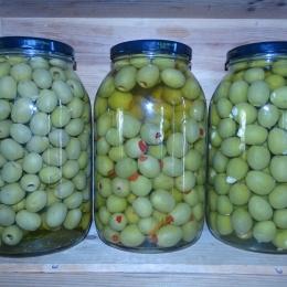 Vrac - Olives vertes farcies à l'ail