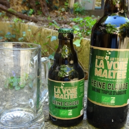 "Bière Brune ""Reine Claude"""