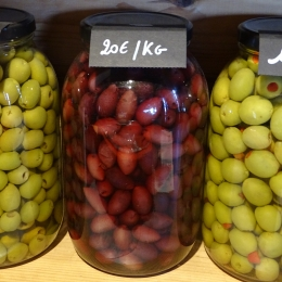 Vrac - Olives noires denoyautées Kalamata