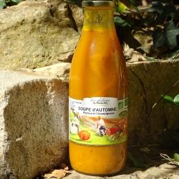 Soupe d'Automne (Potiron-Champignon)