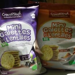 Galettes Lentilles Curry