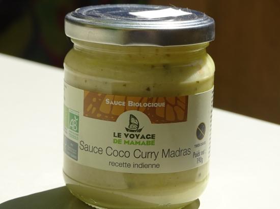 Sauce Coco Curry Madras