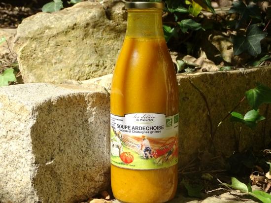 Soupe Ardéchoise (Potiron-Châtaigne)