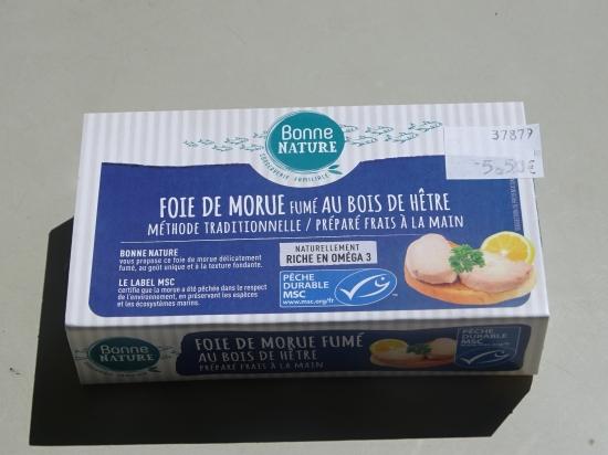 Foie Morue Fumé Bois de Hêtre