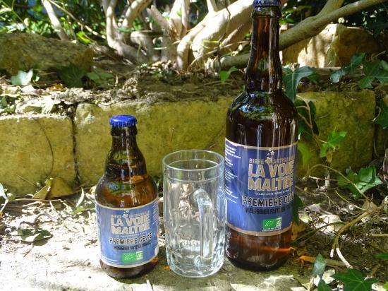 """Bière Blanche """"Première Gelée"""""""