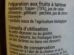 100 % Fruits à tartiner - Fraise