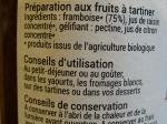 100 % Fruits à tartiner - Framboise