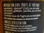 100 % Fruits à tartiner - Abricot