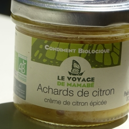 Achards de citron