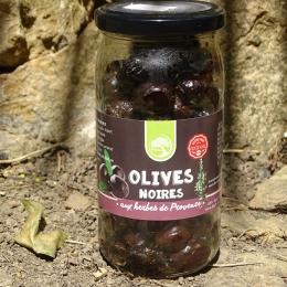 Olives Noires Herbes de Provence
