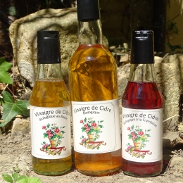 Vinaigres de Cidre aromatisés
