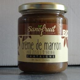 Crème Marron Zestes Orange